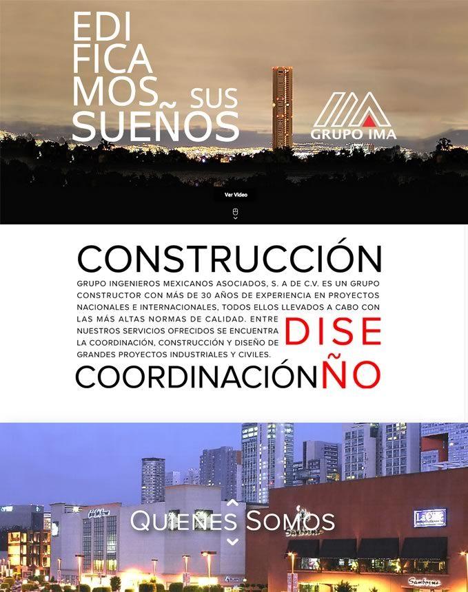 GrupoIMA sitio web