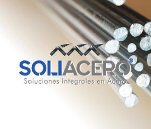 diseño de logo soliacero